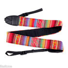 Vintage Camera Shoulder Neck Strap Sling Belt for Nikon Canon SLR DSLR ILDC 3 US