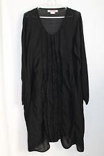 cocon.commerz PRIVATSACHEN  FRANSIEGEL Kleid aus Seidenwollmesh in schwarz Gr. 2