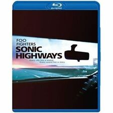 FOO FIGHTERS SONIC HIGHWAYS 3 BLU-RAY ALL REGIONS NEW