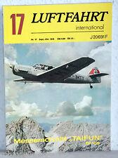 """LUFTFAHRT international Nr.17/1976 - Messerschmitt """"Taifun"""" BF 108"""