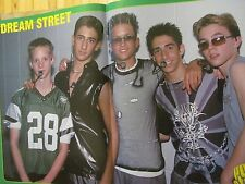 Dream Street, Jesse McCartney, Chad Michael Murray, Two Page Centerfold Poster