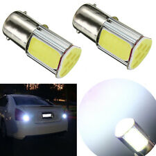 2x BA15S 1156 5W 4 COB LED Car Turn reversing Rear Light Bulb Lamp 12V White NEW