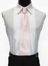 Gentlemen's Light Pink Cravat Tie Victorian Theater Edwardian Morning Dress