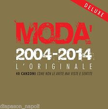 Moda': 2004 - 2014 L'Originale, Limited Deluxe Edition - Box 2 CD + 2 DVD