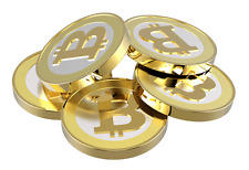 BitCoin Nickel: 50 mBTC (0.05 BitCoin) Digital Gold *US Seller*