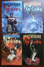 Wolverine: Netsuke #1-4 2002 Marvel 4BK LOT/SET 9.6 NM+ Flawless books LOOK!