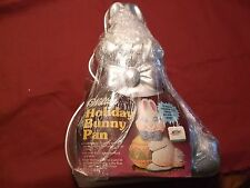 1983 Wilton Holiday Bunny Cake Pan 2105-5885 With Insert & Instructions