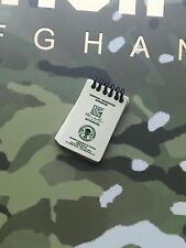 DAMTOYS Elite British Army in Afghanistan Note Pad loose 1/6th scale