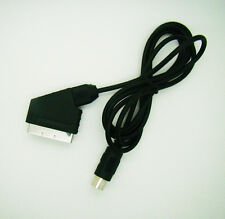 6 ft AV SCART CABLE/LEAD For SEGA MASTER SYSTEM 1 & MEGADRIVE 1 & Genesis 1