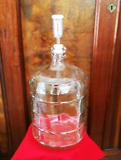 GLASS CARBOY 5 GALLON SECONDARY FERMENTER KIT +BUNG+AIRLOCK HOMEBREW BEER & WINE