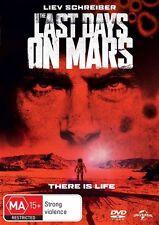 The Last Days On Mars (DVD, 2014)