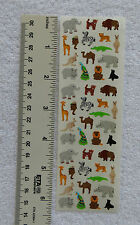 Sandylion MINI JUNGLE ANIMALS RETIRED RARE Stickers OUT OF PRINT