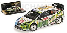 MINICHAMPS 400 088146 Ford Focus model car Rossi / Cassina Wales Rally 2008 1:43
