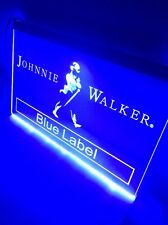 Johnnie Walker Sign Led Neon acrylic for Game Room,Office,Bar,Man Cave, Decor