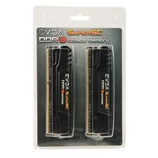 EVGA 16Gb (2x8Gb) DDR3-2400 PC3-19200 240 pin Memory Card Brand New Original Box