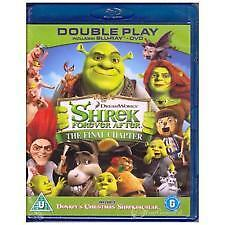 SHREK 4: FOREVER AFTER BLU RAY - NEW & SEALED REGION B INC XMAS SHREKTACULAR