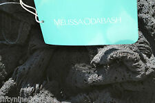 £424 NEW MELISSA ODABASH CROCHET / KAFTAN / COVER UP DRESS with slip SIZE Medium