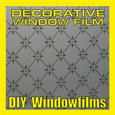 DECORATIVE FROSTED PRIVACY WINDOW FILM - Antique