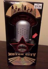 "Motor City Hits Illuminated Musical Microphone Ornament ""ABC"" Michael Jackson"