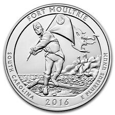 2016 5 oz Silver ATB Fort Moultrie National Monument, SC - SKU #115846