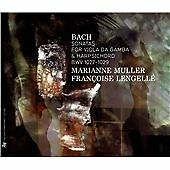 BACH: SONATAS FOR VIOLA DA GAMBA AND HAR NEW & SEALED