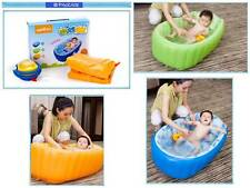Mambobaby Inflatable Baby Bath Tub *FREE: Leg Pump!