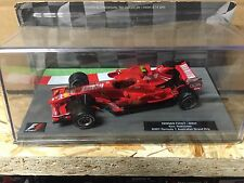 "DIE CAST "" FERRARI F2007 - 2007 KIMI RAKKONEN  "" FORMULA 1 COLLECTION 1/43"