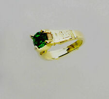 14KT YELLOW GOLD MINI BABY BIRTHSTONE RING CHARMS