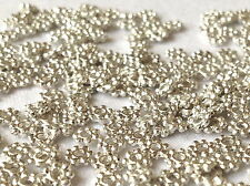 RONDELLE Spacer beads Silver Plated  4mm  250 Pieces   MPC0018