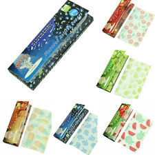 DIY 5X Fruit Flavored Smoking Cigarette Hemp Tobacco Rolling Papers 250 Leaves