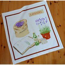 FROTTEE Geschirrtuch Küchentuch Handtuch Küchenhandtuch LAVENDEL Baumwolle 50x50
