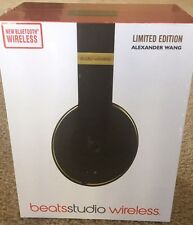 Beats by Dr Dre Beats Alexander Wang Studio Headband Headphones - Black/Gold