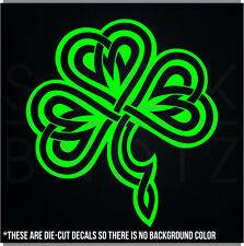 CELTIC SHAMROCK IRISH CUTE FUNNY DECAL STICKER MACBOOK CAR WINDOW MOTORCYCLE