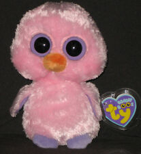 TY BEANIE BOOS BOO'S - POSY the PINK CHICK - MINT with MINT TAGS