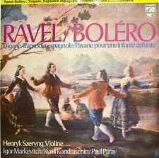 """RAVEL BOLERO TZIGANE.. HENRYK SZERYNG MARKEVITCH KONDRASCHIN PARAY 12"""" LP (d331)"""
