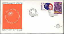 Netherlands 1992 Columbus, Europa FDC First Day Cover #C28001