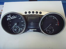 MERCEDES ML (W164) HYBRID INSTRUMENT CLUSTER CLOCKS A1649009500  (2012)
