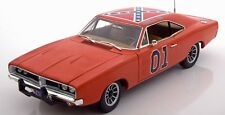 Ridotto £ £: AUTO WORLD 1/18 DODGE CHARGER GENERALE LEE-Dukes of Hazzard amm964