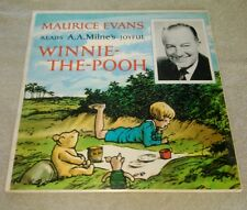 Winnie The Pooh LP Read By Maurice Evans Pathways Of Sound Gets In A Tight Place