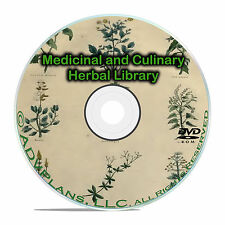 Vintage Herbal Remedies, Herbs Herbalism, Homeopathic Medicines 96 books DVD B59