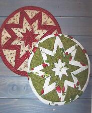 Folded Star Trivet quilt pattern by Little Craft Cottage for Quilt Woman