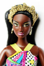 Barbie Doll So In Style Chandra African American Articulated Arms Redressed Rare