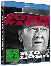 Blu-ray RIO LOBO # v. Howard Hawks, John Wayne ++NEU