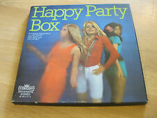 3 LP Box Happy Party Ben Best Joe Good  Donky Vinyl INTERCORD 287565