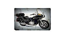 1980 gl1100 interstate Bike Motorcycle A4 Retro Metal Sign Aluminium