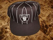 LOS ANGELES RAIDERS DRE REFEREE EASY SGA PROMO  90'S HAT CAP VINTAGE SNAPBACK