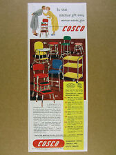 1951 Cosco Stools High-Chair Step-Stool Utility Cart 7 Models vintage print Ad