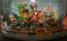 New Disney 7 Piece Set  Jake and the Never Land Pirates Play Set/Cake Topper