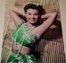MITZI GAYNOR /  LOVELY  8 X 10  COLOR  PHOTO