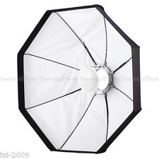 "24""/60cm blanco plegable belleza Plato/Softbox Kit (2 de cada 1) S-Tipo de Montaje"